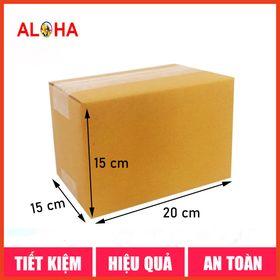 Hộp carton gói hàng size 20x15x15 giá sỉ