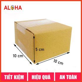 Hộp carton size 10x10x5 giá sỉ