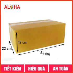 Hộp carton gói hàng size 33x22x12 giá sỉ