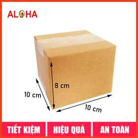 Hộp carton size 10x10x8 giá sỉ