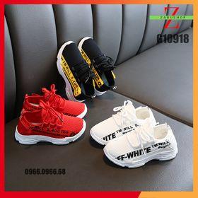 Giày Thể Thao Lưới Thoáng Khí Cho Trẻ Em Năng Động Dễ Phối Đồ Size 27-36 giá sỉ