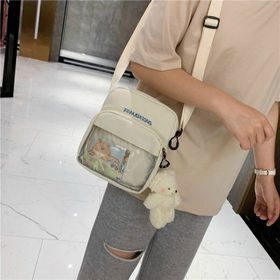 Túi đeo Chéo vải phối nhựa giá sỉ