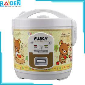 Nồi cơm điện mini 1L Fujika FJ-NC1005 nhiều họa tiết giá sỉ