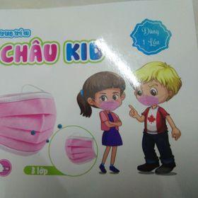 Khẩu trang trẻ em Bảo Châu Kid giá sỉ