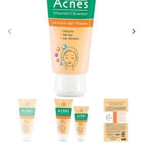 Acnes Vitamin Cleanser – Kem Rửa Mặt Vitamin giá sỉ