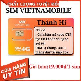 Sim vnm nhận mã otp/ Sim nhận mã code tạo tk , laz, ,.. giá sỉ