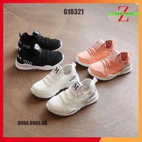 Giày Thể Thao Cho Trẻ Em Chữ M Vải Lưới Thoáng Khí Cực Mềm Cực Êm Size 27-36 giá sỉ