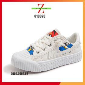 Giày Thể Thao Bé Trai Bé Gái Phim Hoạt Hình Phong Cách Hàn Quốc Trẻ Trung Năng Động Size 26 - 34 giá sỉ