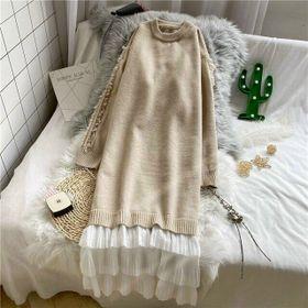 Đầm len đông maxi giá sỉ