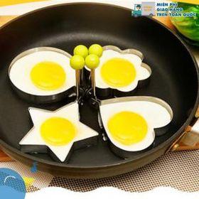 Khuôn inox chiên trứng, làm bánh tạo hình giá sỉ