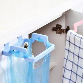 Giá treo túi đựng rác gắn kệ tủ bếp tiện lợi bằng inox giá sỉ