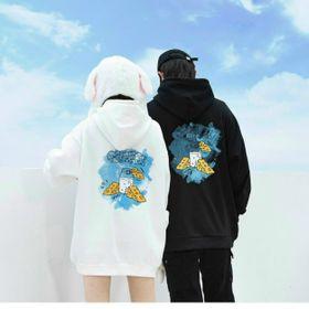 Áo hoodie nỉ ngoại in phô mai giá sỉ