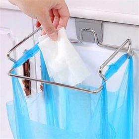 Giá treo túi đựng rác gắn kệ tủ bếp bằng inox giá sỉ