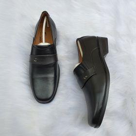 Giày Tây Nam Phối Quai Mũi Vuông giá sỉ