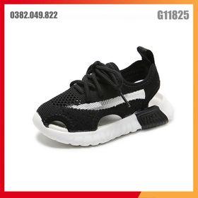 Giày Lưới Màu Đen Siêu Thoáng - Dép Sandal Bé Trai Bé Gái Siêu Mềm Cho Mùa hè Size 26 - 30 - G11825 giá sỉ