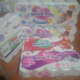 Giấy vệ sinh Mom & Baby giá sỉ
