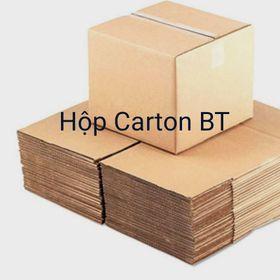 hộp carton đóng hàng size 15x8x8 màu nâu giá sỉ