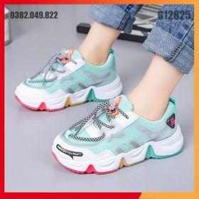 Phiên Bản Hàn Quốc Của Mùa Thu Cho Trẻ Em Giày Thể Thao Giày Chạy Lưới Thoáng Khí Chống Trượt Size 27-36 - G12825 giá sỉ