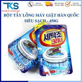 Bột tẩy rửa lồng máy giặt Hàn Quốc Vệ Sinh Máy giặt siêu sạch giá sỉ