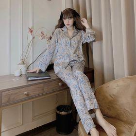 Đồ ngủ đồ mặc nhà tdqd túi đôi chất lụa in 3D hàng quảng đông giá sỉ