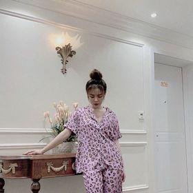 Đồ ngủ đồ mặc nhà tnqd Beo chất lụa quảng đông giá sỉ