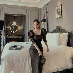 Đầm tay nhúng hàng Quảng Châu giá sỉ