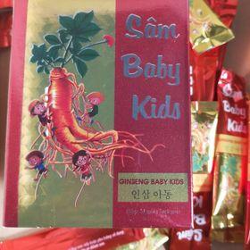 Sâm Baby Kids - siro ăn ngon, tăng sức đề kháng, trị biếng ăn giá sỉ