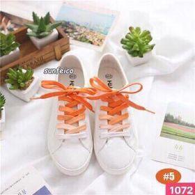Dây giày màu cam giá sỉ