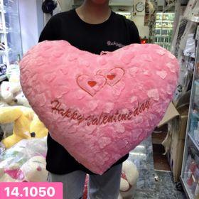 Gấu bông hình 2 trái tim giá sỉ