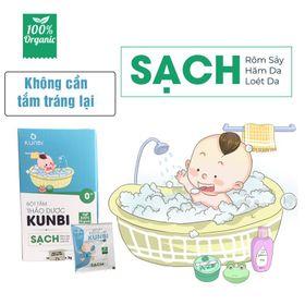 Bột tắm trẻ em thảo dược Kunbi ( rôm sẩy, hăm da, mụn nhọt) giá sỉ