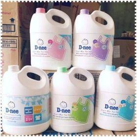 Nước giặt xả Dnee Thái lan 3000ml giá sỉ
