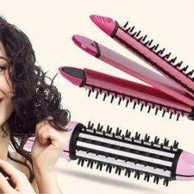 Máy uốn duỗi bấm tóc Nova 8890 giá sỉ