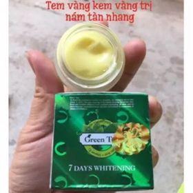 Kem Trà Xanh Green Tea - Trắng Da, Trị Nám, tàn nhang giá sỉ