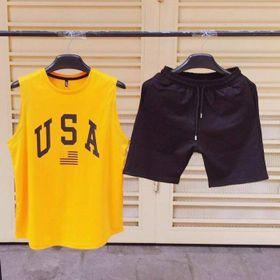 Đồ bộ mặc nhà thể thao USA siêu đẹp giá sỉ