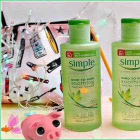 Toner simple 200ml giá sỉ