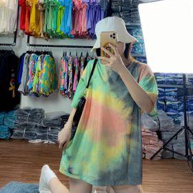 Áo thun teen - áo loang màu free size giá sỉ