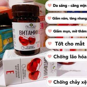 Hộp vitamin e đỏ của nga giá sỉ