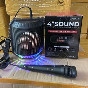Loa bluetooth kèm mic hát karaoke ALP-401 sẵn hàng giá buôn. giá sỉ