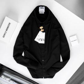 áo sơ mi đen cao cấp giá sỉ