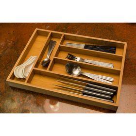 Khay gỗ tre 6 ngăn và 2 ngăn mở rộng kéo giãn đựng muỗng nĩa đũa, dụng cụ bếp, đồ chơi và dụng cụ học tập, đựng dụng cụ trang điểm và dụng cụ gia đình - cao cấp sản xuất tại Việt Nam giá sỉ