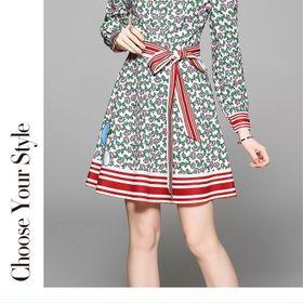 Đầm lụa kèm dây D917987 - Kho sỉ giá sỉ