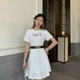 Đầm xoè kèm nịt D91755 - Kho sỉ giá sỉ