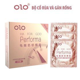 Bao Cao Su OLO Gân Gai - Performa hộp 3 giá sỉ