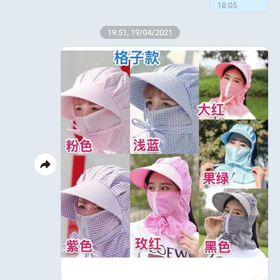 Mũ chống nắng dành cho nữ giá sỉ