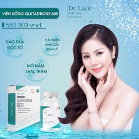 Viên Uống Trắng Da Glutathione 600 giá sỉ