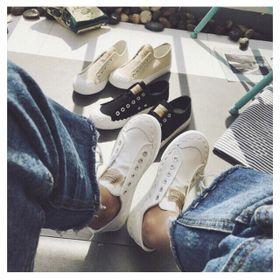 Giày thể thao, Giày sneaker vải nữ ko dây - 161 giá sỉ