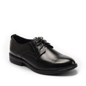Giày Tây Nam Cột Dây Mũi Tròn Phối Viền Đục Lỗ Bên Đế 3cm GT 3614 BQ giá sỉ