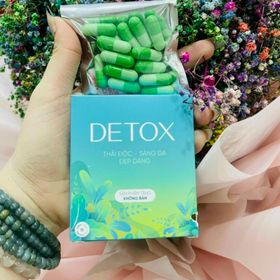 Detox giảm cân 50k / bịt 15 viên giá sỉ
