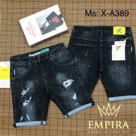 Quần Short jean đen cao cấp giá sỉ