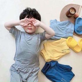 Bộ quần áo trẻ em - bộ thun lạnh alibaba giá sỉ